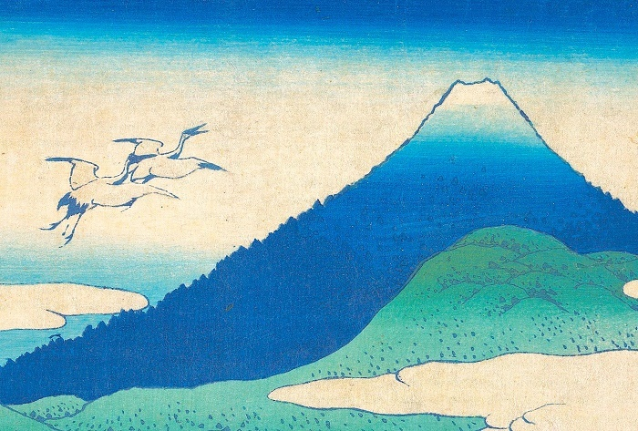 Katsushika Hokusai冨嶽三十六景 相州梅沢左 0303 0616