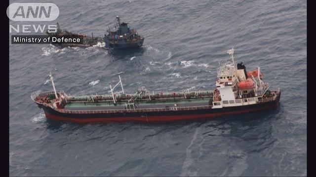 北朝鮮 せどり イギリス海軍 東シナ海