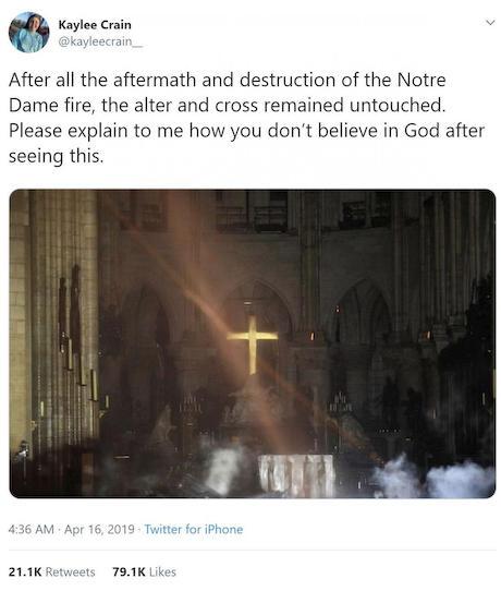 ノートルダム大聖堂 パリ 世界遺産 フランス 火事 十字架 メッキ 科学 宗教