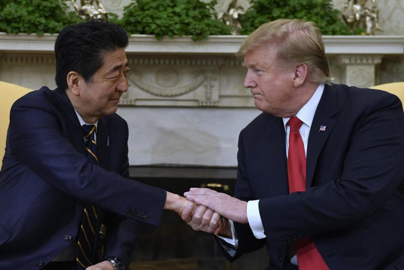 日米首脳会談 安倍首相 トランプ大統領 北朝鮮問題
