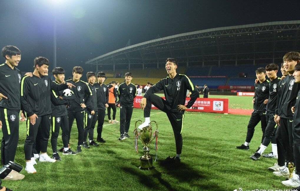 パンダ・カップ 中国 韓国 U-18 足