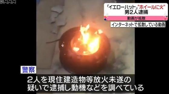 イエローハット 富士市 バイトテロ 馬鹿発見器 放火