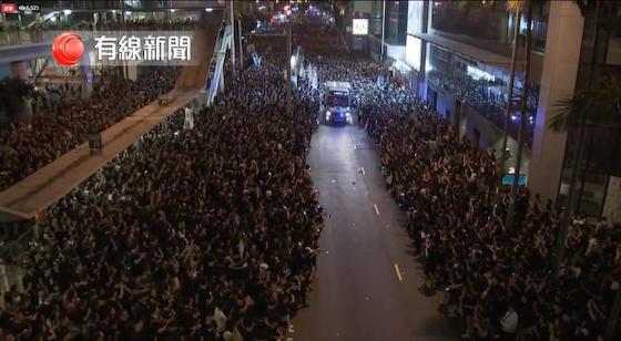 香港 民度 逃亡犯条例 デモ 中国