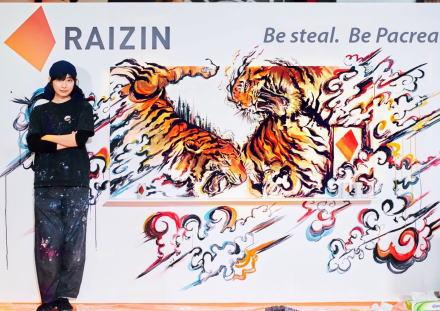 美人すぎるアーティスト・勝海麻衣(25)、ライブアートイベントで他人の作品をパクったとして炎上(比較画像)→ 一応の謝罪はしたものの、パクリとは認めず?