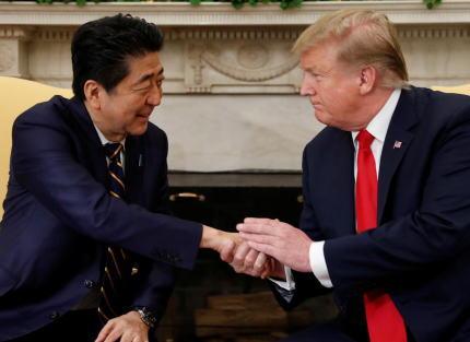 安倍首相、ホワイトハウスでトランプ大統領と約1時間45分に渡り会談 … トランプ大統領は「北朝鮮問題解決のための日朝首脳会談の実現に全面的に協力する」と約束するなど、濃密な内容