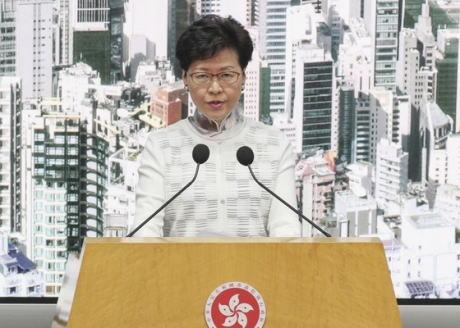 香港政府トップの林鄭月娥行政長官、中国本土への容疑者引き渡しを可能にする「逃亡犯条例」の改正案の審議について、当面の間延期すると発表 … 一方で「絶対に撤回はしない」とも明言