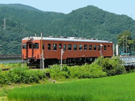 JR 大糸線 キハ52 156 気動車【根知駅】