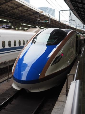 北陸新幹線 E7・W7系 かがやき521号【東京駅】