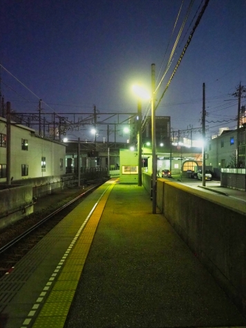 北陸鉄道 浅野川線 七ツ屋駅