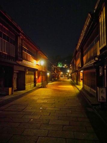 ひがし茶屋街【夜の金沢】