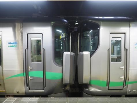 あいの風とやま鉄道 521系 電車【金沢駅】