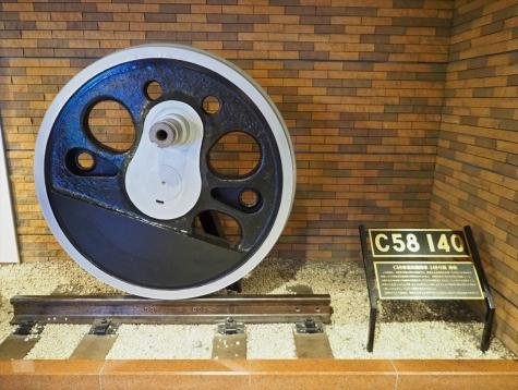 C58 140の動輪