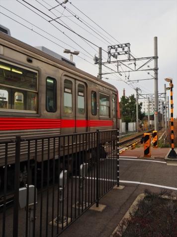 北陸鉄道 7700系 電車【新西金沢駅】