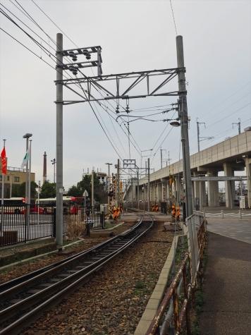 新西金沢駅付近