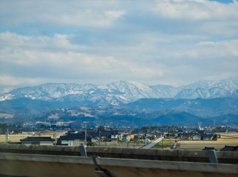 富山県上市町付近