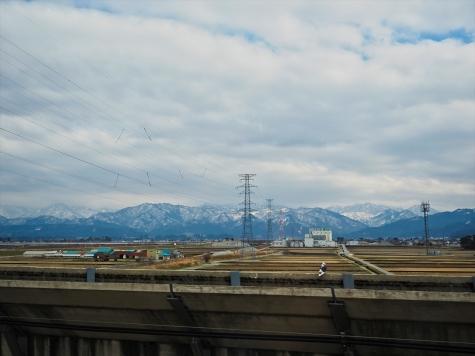 富山県黒部市付近