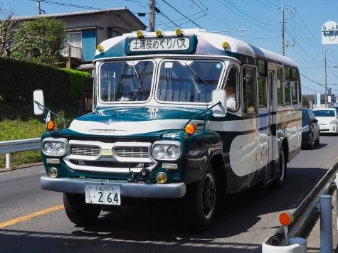いすゞBXD30型ボンネットバス
