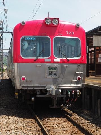 上毛電気鉄道 700形 電車 713F【赤城駅】