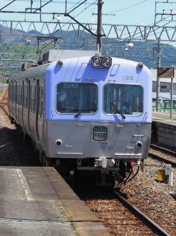 上毛電気鉄道 700形 電車 716F【赤城駅】
