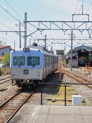 上毛電気鉄道 700形 電車 716F【大胡駅】