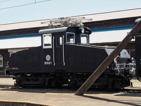 電気機関車 デキ3021【上毛電気鉄道】
