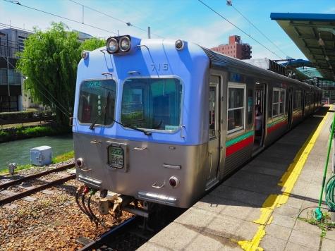 上毛電気鉄道 700形 電車 716F【中央前橋駅】