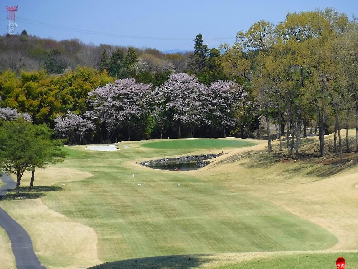 ブログ 自治会のゴルフ スタートホール.jpg