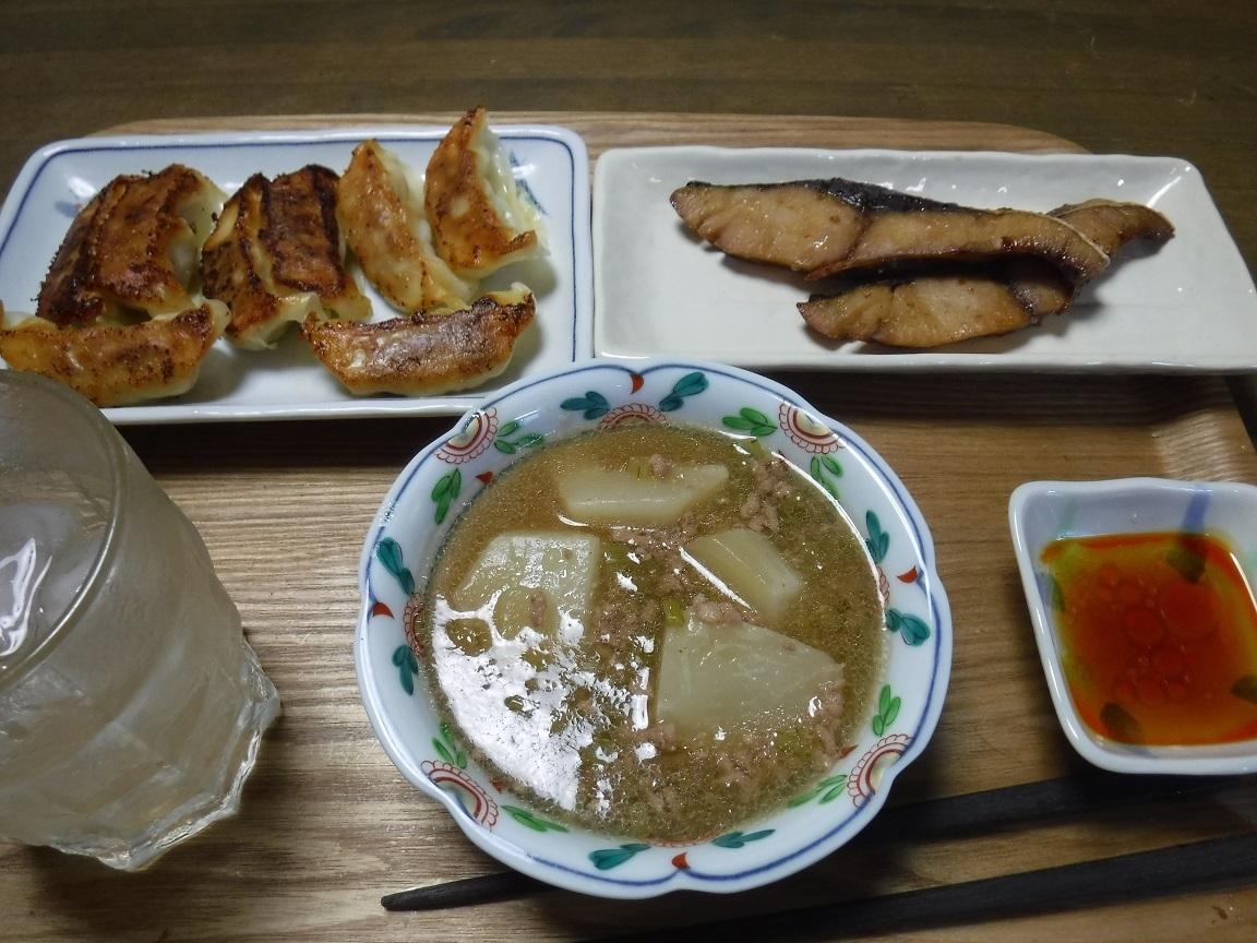 ブログ 夕食 餃子定食.jpg