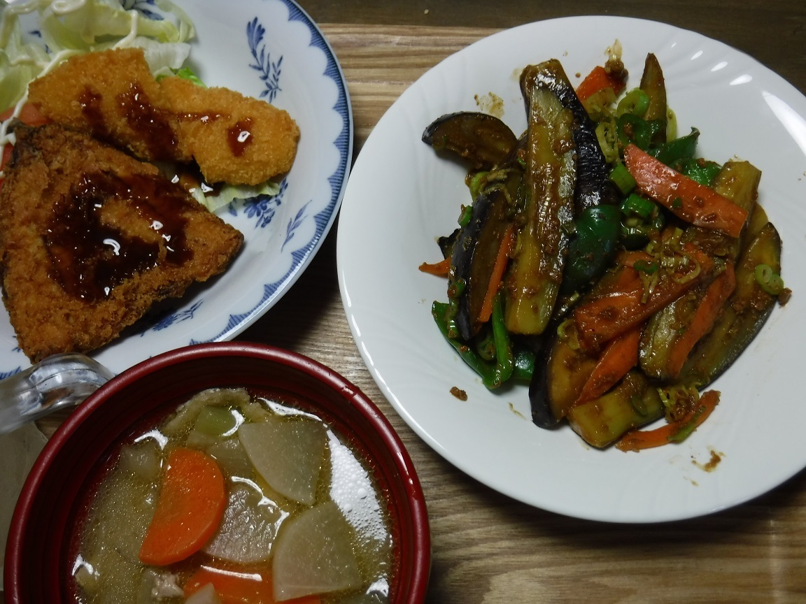 ブログ 夕食  マーボ茄子.jpg