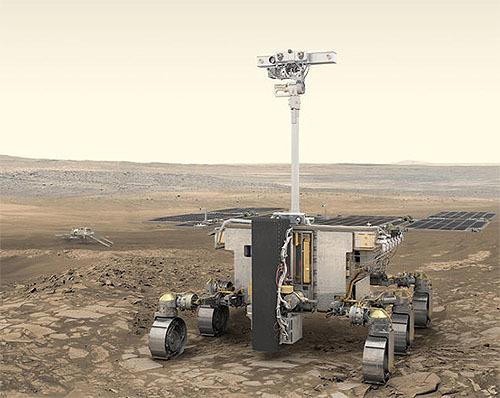 ESAの火星生命探査車「ロザリンド・フランクリン」