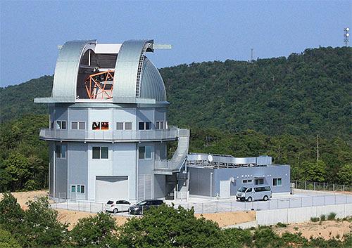 京大、東洋一の大望遠鏡完成
