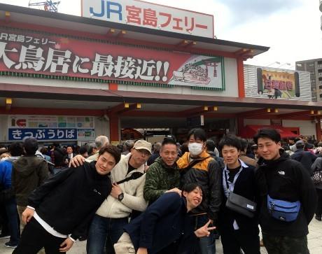 20190409厳島~錦帯橋 (1)