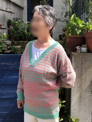 春のセーター-2