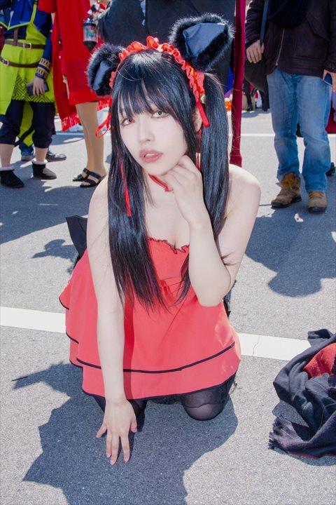 デート・ア・ライブ 時崎狂三 紅ジャケおにぎり丸 コスプレ 6