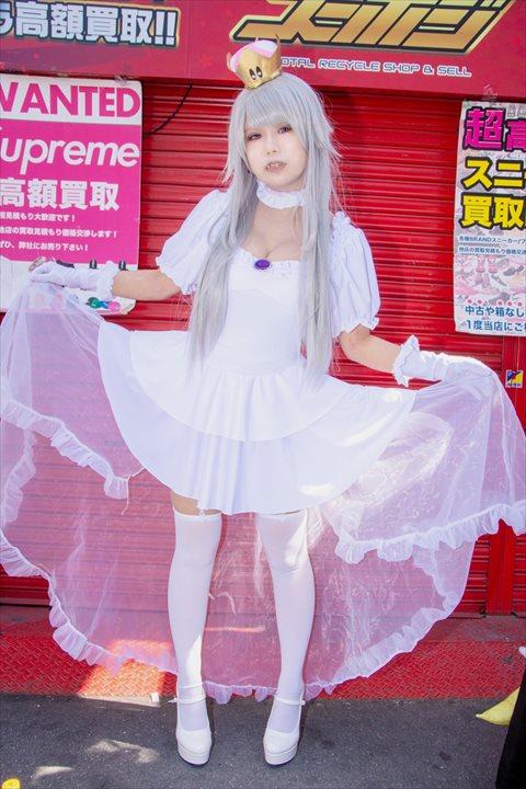 クッパ姫 キングテレサ姫 コスプレ 09