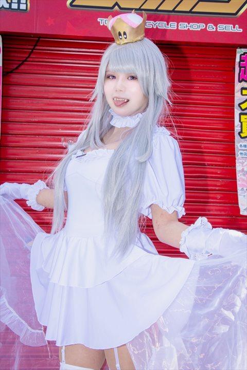 クッパ姫 キングテレサ姫 コスプレ 10