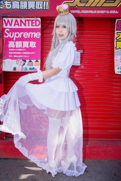 クッパ姫 キングテレサ姫 コスプレ 11