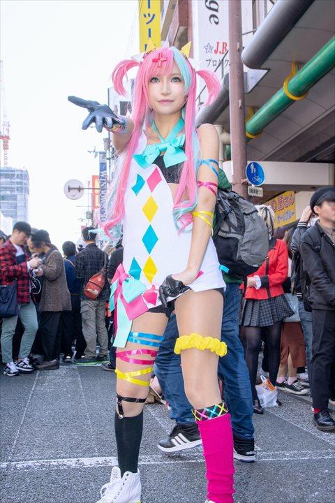 ピンキーポップヘップバーン  かえるちゃん コスプレ 1