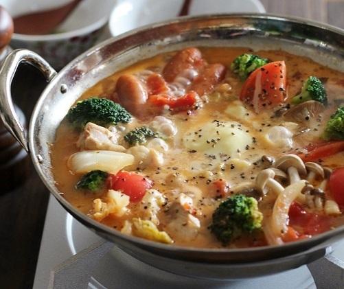トマト胡椒鍋