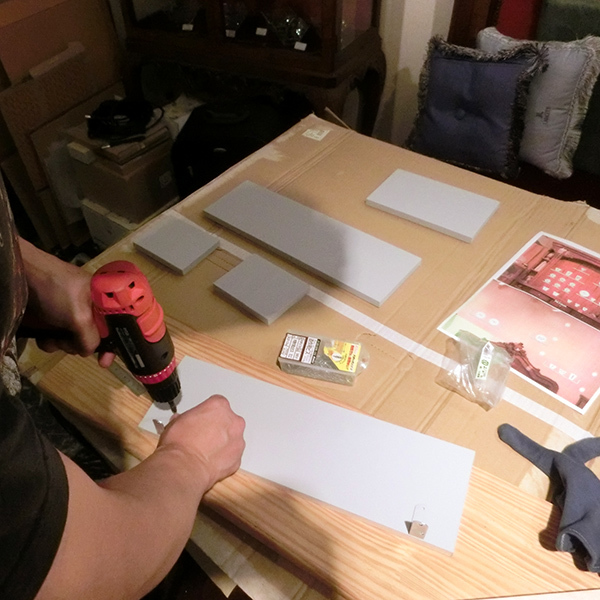 DIY 棚 自作 大田区 池上 パンタレイ pantarheicraft ギャラリー