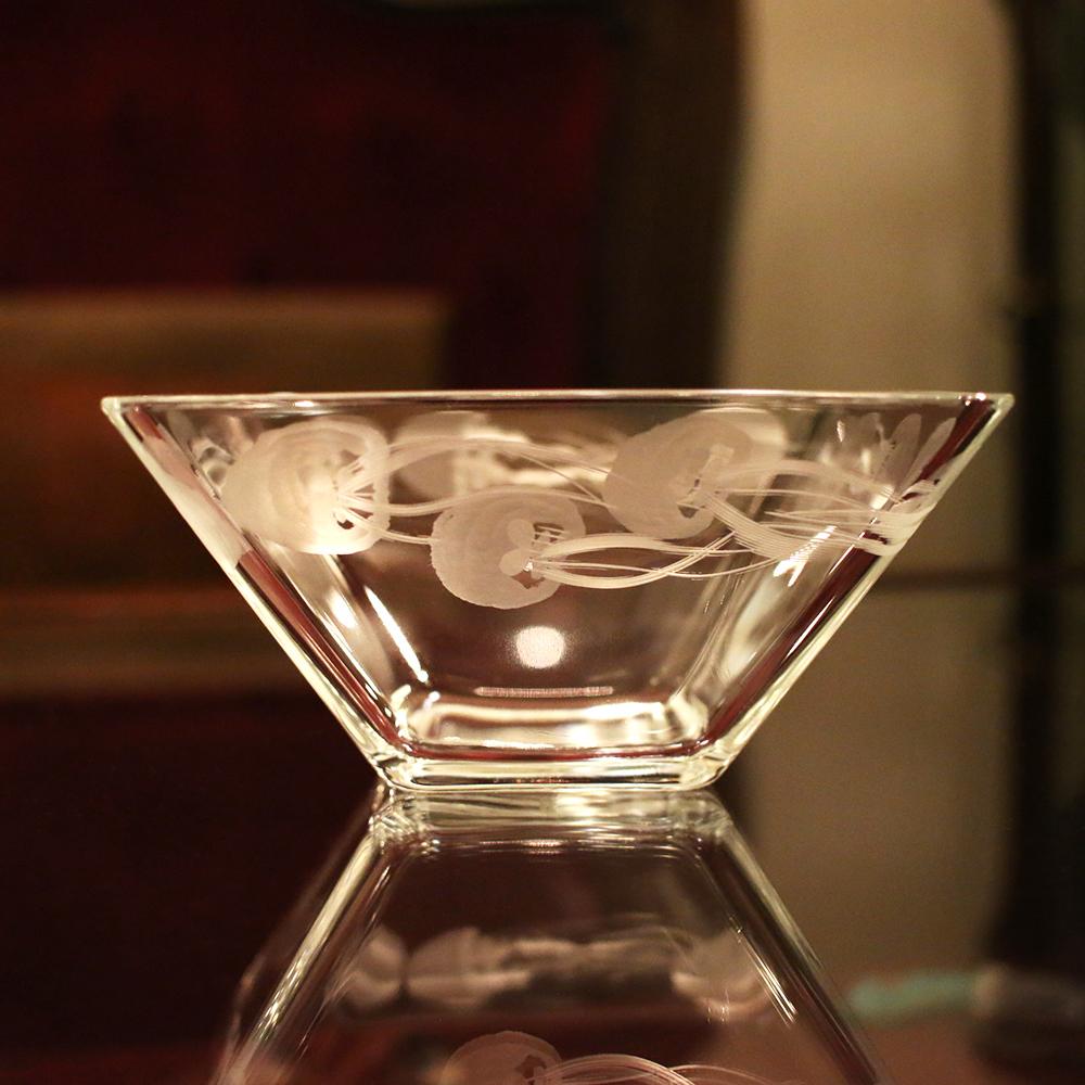 大田区 池上 パンタレイ panta rhei ギャラリー 切子 ガラス 皿 器 グラス 神谷麻理子 くらげ 海月