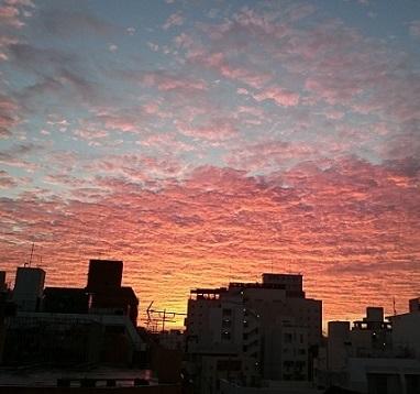 2018朝焼け