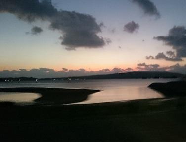 奥武島→屋我地島