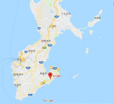 垣花樋川地図