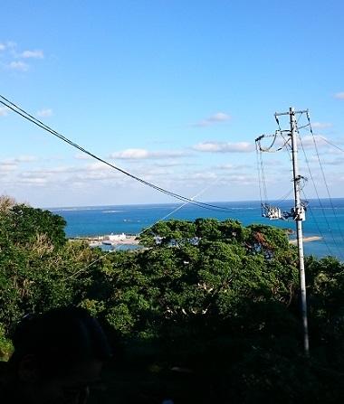 久高島見えます