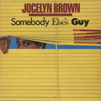 SL_JOCELYN BROWN_SOMEBOYS ELSES GUY_20190416