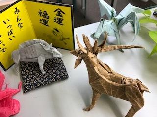 イノシシ・ペガサス・鹿