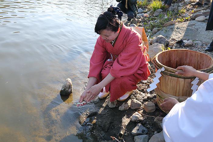 磐瀬の杜 滝祭・放魚祭4