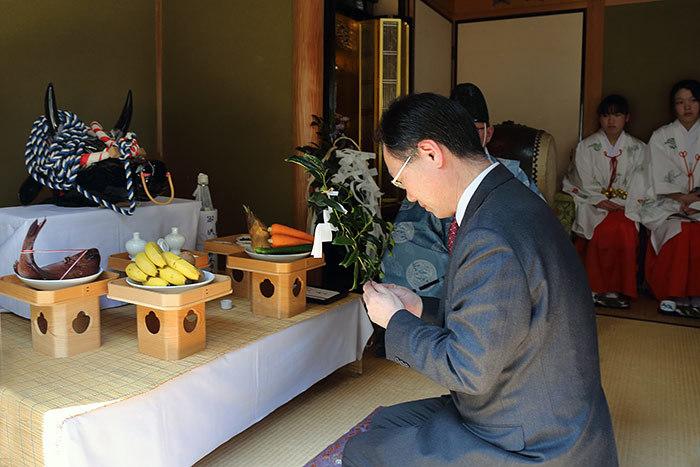 鴨都波神社 春祭り1
