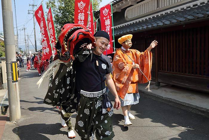 鴨都波神社 春祭り6